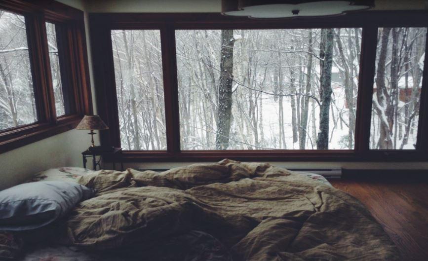 habitacion en invierno